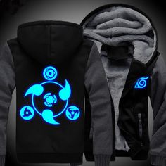 Camplayco Naruto Sharingan Luminous Cosplay Thick Padded Hoodie Size XXL -- Read more reviews of the product by visiting the link on the image.