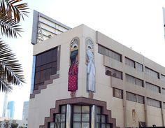 """""""Curiosity"""" und """"Prohibited"""" – zwei neue Murals für das Dubai Street Museum  Mit dem Bestreben Dubai in ein begehbares Street-Art-Museum zu verwandeln, lädt das bevölkerungsreichste der sieben Emirate Street-Artists aus all..."""