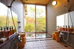 Hotel Kiyomizu in Akiu Onsen Miyagi, Japan Sendai, Miyagi, Hot Springs, Baths, Windows, Japan, Room, Furniture, Home Decor