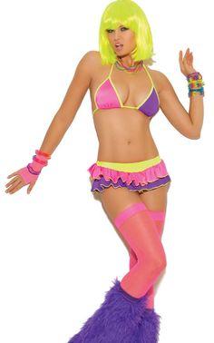 Skirt set neon and dance on pinterest
