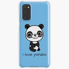 """I love Pandas"" Case & Skin for Samsung Galaxy by jakezbontar   Redbubble Samsung Cases, Samsung Galaxy, Phone Cases, My Love, Pandas, Phone Case"