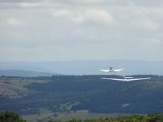Gliderflight in Wasserkuppe