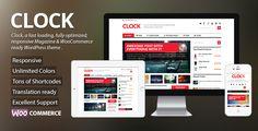 Clock - Magazine & WooCommerce Ready WP Theme (eCommerce)