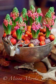 Amazing combination of materials | blomsterverkstad