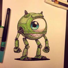 Les personnages de la pop culture transformés en robots