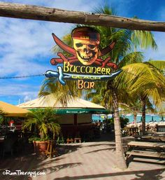 Buccaneer Beach Bar, St. Maarten - great place to enjoy a beverage in the sunshine, good food, live music and a fireball on the beach!
