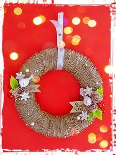DIY wreath - Joyeaux Noel