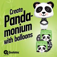 Are you ready to create pandamonium? 😀🐼🎈