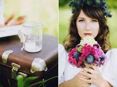 Schneewittchen, Brautstrauß von Anmut und Sinn  Fotografie: http://pourtoiphotographie.com Haare und Make Up: Isabelle Kurt Makeup