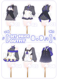 They are kimono princess outfits! Fashion Design Drawings, Fashion Sketches, Clothing Sketches, Casual Outfits, Cute Outfits, Fashion Art, Fashion Outfits, Anime Dress, Princess Outfits