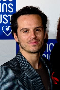 """andrewscottt: """"Andrew Scott attends The Terrance Higgins Supper Club at Underglobe on October 8, 2014. Open in new tab for HQ. (x) """""""
