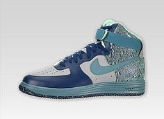 Nike Lunar Force 1 NS High Premium(Silver/Mineral Teal)   #bestsneakersever.com #sneakers #shoes #nike #lunar #force1 #ns #high #premium  #silver #mineralteal #style #fashion