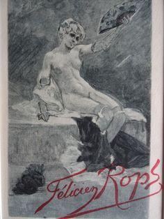Félicien Rops -  (1833-1898)