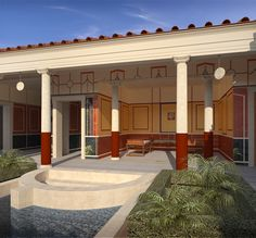 Casa del Citarista, Pompeii on Behance