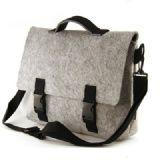 Large Grey Felt Messenger Bag,Messenger Bags