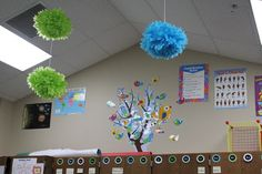 Mrs. Cockrell of the Teach On blog turned our tree branches skyward ... so clever!  Check out her blog for more great ideas and musings from a 2nd grade teacher who LOVES her job!