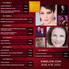 Week of October 5th, 2015 performance schedule. Click to buy tickets.