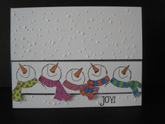 Snowmen...my favorites! by lisaadd - Cards and Paper Crafts at Splitcoaststampers