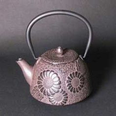 cast iron tea pot/I have some iron ones and I am not a fan of them; they get smelly inside so I don't like using them for tea
