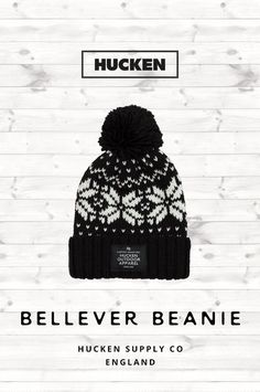 270cd476532 Retro style bobble beanie perfect for everyday wear. Features our branding  patch sewn onto the