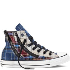 Chuck Taylor All Star Dual Zip Plaid