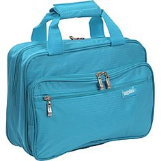 Baggallini Complete Cosmetic Bagg Rip Stop Nylon Turquoise Via Ebags