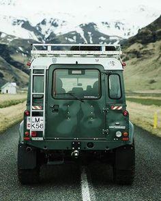 TD5 Defender 90 CSW Source: shockmansion.com #landrover #defender90 #landroverdefender #landroverphotoalbum #4x4 #snow