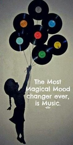 The most magical mood changer ever is music. Well in my humble opinion it is one of the most magical mood changer ever. Kinds Of Music, Music Is Life, House Music, Mundo Musical, All About Music, Music Therapy, Music Quotes, Music Sayings, Music Lyrics Art