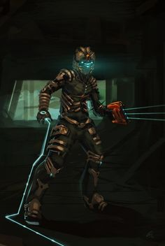 Dead Space By WhoAmI01 On DeviantART Armor Games Video Game Art