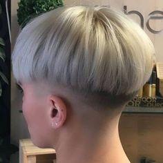 Really Short Hair, Super Short Hair, Short Hair Cuts, Short Hair Styles, Short Grey Haircuts, Short Wedge Hairstyles, Short Hair Undercut, Undercut Hairstyles, Mid Fade Haircut