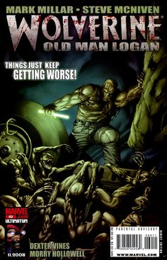 The cover to Wolverine #69 (2009), art by Steve McNiven, Dexter Vines, & Morry Hollowell
