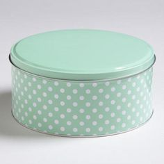 Mint Dots Round ~ Cost Plus