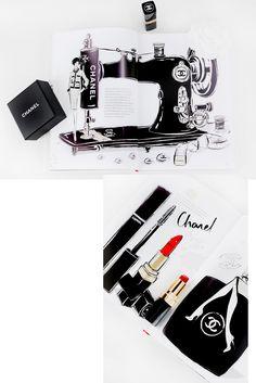 Coco Chanel. Die zauberhafte Welt einer Stil-Ikone von Megan Hess {Rezension} Megan Hess, Chanel Jacket, Fashion Illustrations, I Love Fashion, Coffee, Table, Books, Decor, Coco Chanel Pictures