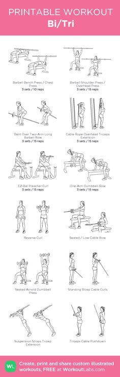 Bi/Tri workout