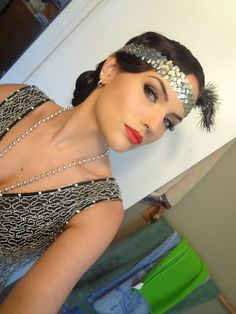 Makeup By Cheryl H: 1920's Wedding FOTD + OOTD