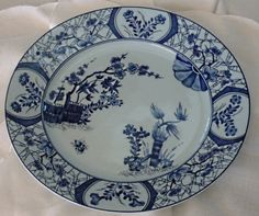 """Like:  Our Limoges china -  """"Ceresiers"""" de Monet  - navy and robin's egg blue.  Inspiration for blues in color scheme."""