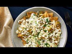 Deliciosos Chilaquiles Con Salsa Verde   Receta De V&V Supremo®