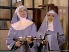 Find images and videos about grunge, nun and nuns+with+guns on We Heart It - the app to get lost in what you love. Stupid Memes, Dankest Memes, Funny Memes, Hilarious, Reaction Pictures, Funny Pictures, Image Hilarante, Foto Top, Draw The Squad