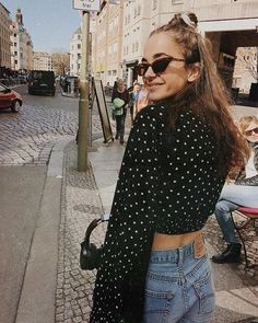 BDG Polka Dot Plisse Dolman Sleeve Crop Top | Urban Outfitters | Women's | Tops | Shirts & Blouses via @louisabrueg #uoeurope #urbanoutfitterseu #urbanoutfitters #uoonyou