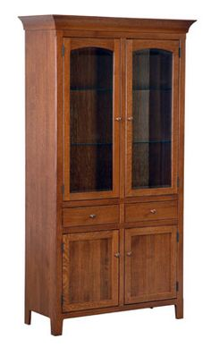 Amish Outlet Cambridge Dining Cabinet In Oak Furniture Dream Solid
