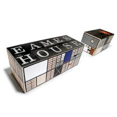 Eames House Blocks  by House Industries