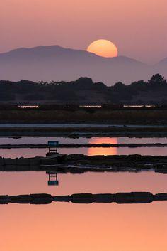 Sunset, Saline di Marsala, Sicily - Italy | Flickr