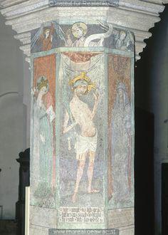 Schmerzensmann 1430-40 Evang. Pfarrkirche St. Martin - Memmingen - Schwaben - Deutschland