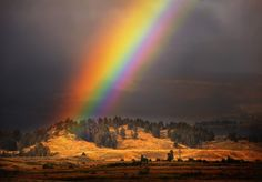 L'image du jour : Arc-en-ciel à Yellowstone, USA