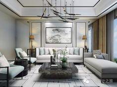 新中式家具组合,轻装逆袭!