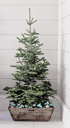 Farmhouse Christmas Tree Front Porches Decor Ideas - Page 25 of 53 - Afifah Interior Decoration Christmas, Christmas Porch, Merry Little Christmas, Noel Christmas, Country Christmas, Xmas Decorations, Simple Christmas, Christmas Projects, Winter Christmas