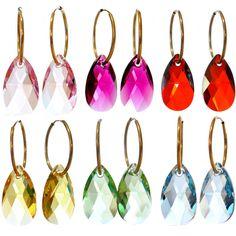 Eve Swarovski Crystal Earrings