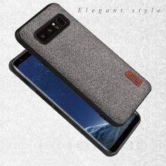 A Mofi designed phone case for Samsung Galaxy Note 8. Features a soft, textured patterned back with a silicone edge. The silicone edge helps protect against drops and protects the corners of the phone. Your phone camera will be protected against scratches with the raised bezel, with the case proving to be durable as well as flexible. Compatible with Galaxy Note 8 and available in 3 different colours. £12.99 with Free Shipping!