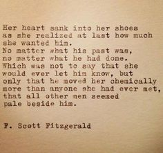 Her heart sank Heart Sink, Fitzgerald Quotes, Book Quotes, The Dreamers, Poems, Let It Be, Sayings, Hot, Beautiful