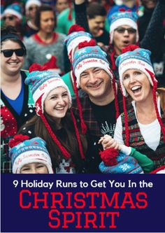 It's the most wonderful time of the year and there's only one way to celebrate: With a holiday race, obviously. So put on your ugly sweaters and Santa hats and run towards the warmth of hot cocoa. 9 Holiday Runs to Get You In the Christmas Spirit http://www.active.com/running/articles/9-holiday-runs-to-get-you-in-the-christmas-spirit?cmp=17N-PB31-S14-T1---1103
